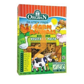 RICE & CORN FARM ANIMALS (PASTA VEG. ANIMALES) 200Gr.