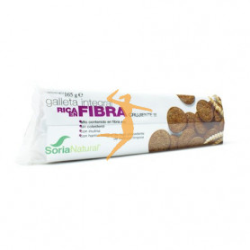 GALLETA INTEGRAL RICA EN FIBRA SORIA NATURAL