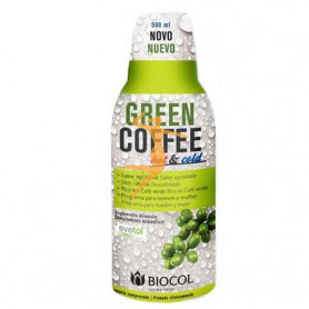 GREEN COFFEE HOT & COLD CAFE VERDE 500Ml. BIOCOL