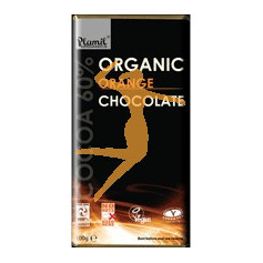 CHOCOLATE NARANJA ORGANICO 100GR PLAMIL