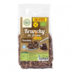 KRUNCHY AVENA S/G CHOCOLATE BIO 350Gr. SOL NATURAL