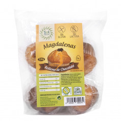 MAGDALENAS CON CHOCOLATE 5Uds. 220Gr. SOL NATURAL