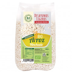 ARROZ INTEGRAL HINCHADO BIO 100Gr. SOL NATURAL