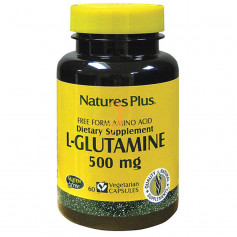 L-GLUTAMINA 500Mg. 60 CÁPSULAS NATURES PLUS