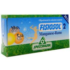 FISIOSOL 2 Mn-Cu 20 VIALES SPECCHIASOL