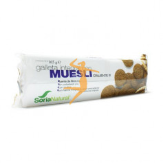 GALLETAS INTEGRALES CON MUESLI SORIA NATURAL
