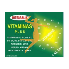VITAMINAS PLUS 30 CÁPSULAS INTEGRALIA