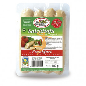 SALCHITOFU FRANKFURT BIO 180Gr. EL GRANERO
