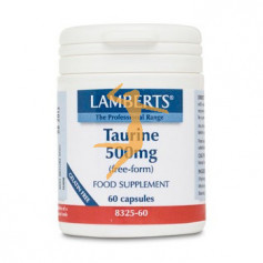TAURINA 500Mg. LAMBERTS