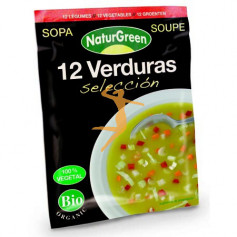 SOPA 12 VERDURAS SELECCIÓN BIO NATURGREEN