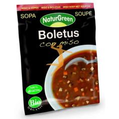 SOPA BOLETUS CON MISO BIO NATURGREEN