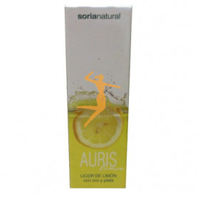 AURIS LEMON - LICOR DE LIMÓN CON ORO Y PLATA SORIA NATURAL