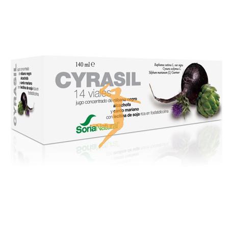 CYRASIL 14 VIALES SORIA NATURAL