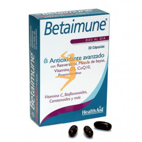 BETAIMUNE 30 CÁPSULAS HEALTH AID