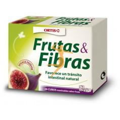 FRUTAS Y FIBRAS 24 CUBOS ORTIS