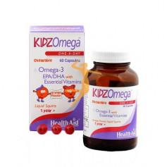 KIDZ OMEGA 3 CÁPSULAS INFANTIL HEALTH AID