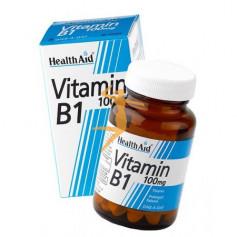 VITAMINA B1 100Mg. 90 COMPRIMIDOS HEALTH AID