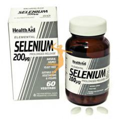 SELENIO SELENOMETIONINA 200Mg. 60 COMPRIMIDOS HEALTH AID