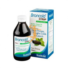 BRONCOLD SYRUP 200Ml. HEALTH AID