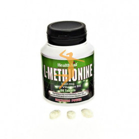 L-METIONINA 550Mg. CON VITAMINA B6 HEALTH AID