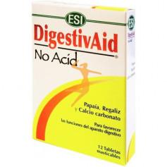 DIGESTIVAID NO ACID 12 TABLETAS TREPAT DIET - ESI