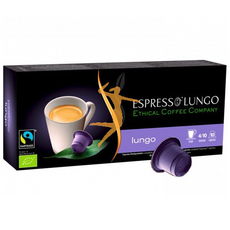 ESPRESSO LUNGO ETHICAL COFFEE COMPANY