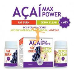 ACAI MAX POWER 60 CÁPSULAS + 60 COMPRIMIDOS NOVITY