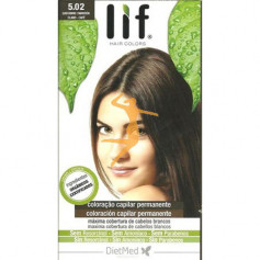 LIF HAIR COLORS 5.02 MARRÓN CLARO CAFÉ DIETMED