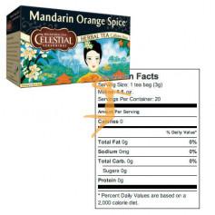 INFUSIONES MANDARIN ORANGE SPICE CELESTIAL SEASON