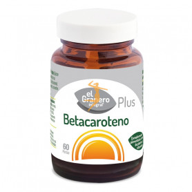 Betacaroteno Plus 60 perlas El Granero