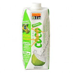 AGUA DE COCO VERDE BIO 500Ml. ISOLA