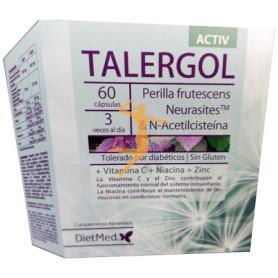 TALERGOL ACTIV 60 CÁPSULAS DIETMED